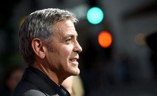 George Clooney, à l'avant-première de son film «Suburbicon», à Los Angeles, le 22 octobre 2017.