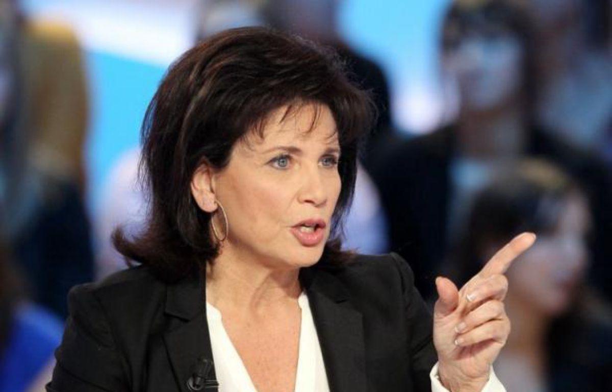 Anne Sinclair ne participera pas à la soirée électorale de BFMTV pour le second tour de la présidentielle, après les derniers rebondissements de l'affaire DSK, selon Guillaume Dubois, directeur général de BFMTV. – Jacques Demarthon afp.com