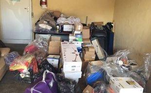 Une montagne de colis postaux volés a été découvert au domicile d'une employée chargée de l'entretien à la Poste.
