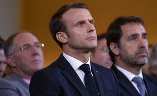 Emmanuel Macron, le 29 octobre 2019 à Paris.
