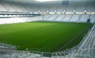 Le nouveaux stade dans lequel évolueront les Girondins de Bordeaux.