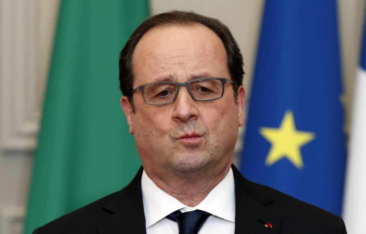 François Hollande, illustration.  – PHILIPPE WOJAZER / POOL / AFP