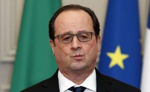 François Hollande, illustration.