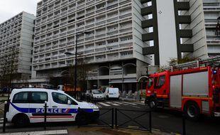 Lors de la nuit du réveillon des incidents avaient eu lieu dans ce quartier populaire de Bordeaux (Photo by MEHDI FEDOUACH / AFP)