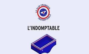 Capture d'écran d'une vidéo présentant «L'Indomptable», le slip qui sent bon du «Slip français».