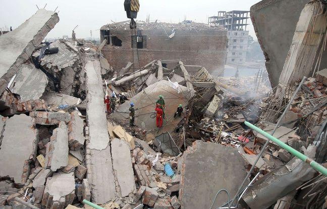 L'immeuble Rana Plaza, qui abritait des ateliers textiles, s'est effondré en avril 2013 faisant plus de 1.100 morts.