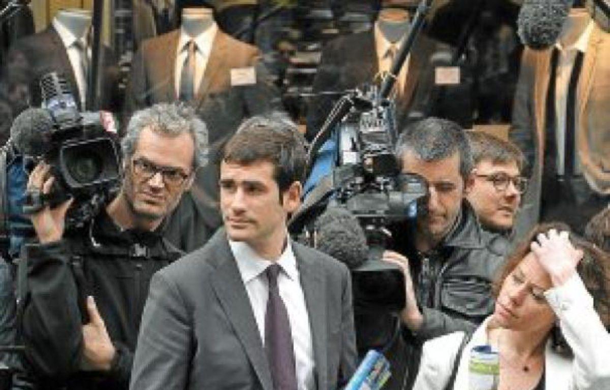 Benjamin Lancar est en charge depuis quatre ans des Jeunes Pop de l'UMP. –  A. GELEBART / 20 MINUTES