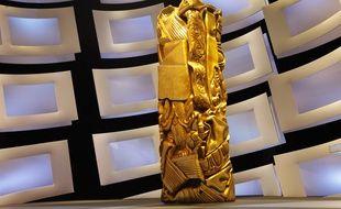 Le décor de la cérémonie des César 2010.