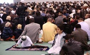 Des centaines de musulmans ont participé à la prière de l'aïd el kebir au parc chanot de Marseille