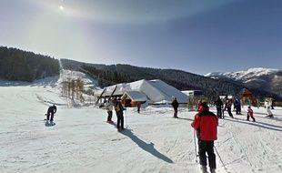 La station de ski Ax 3 Domaines, en Ariège.