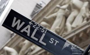 Wall Street à New York, le 16 août 2007
