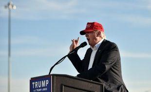 Le candidat républicain Donald Trump lors d'un discours à Sacramento (Californie), le 1er juin 2016