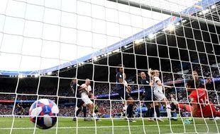 Les Etats-Unis ont marqué dès la 5e minute lors du quart de finale France-Etats-Unis.