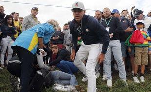 Une spectatrice, touchée par une balle de l'Américain Koepka, a perdu un oeil lors de la Ryder Cup 2018.