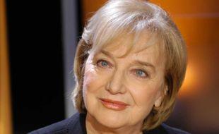 Christine Arnothy, sur le plateau de l'ex-émission littéraire de TF1 «Vol de Nuit», en 2004.