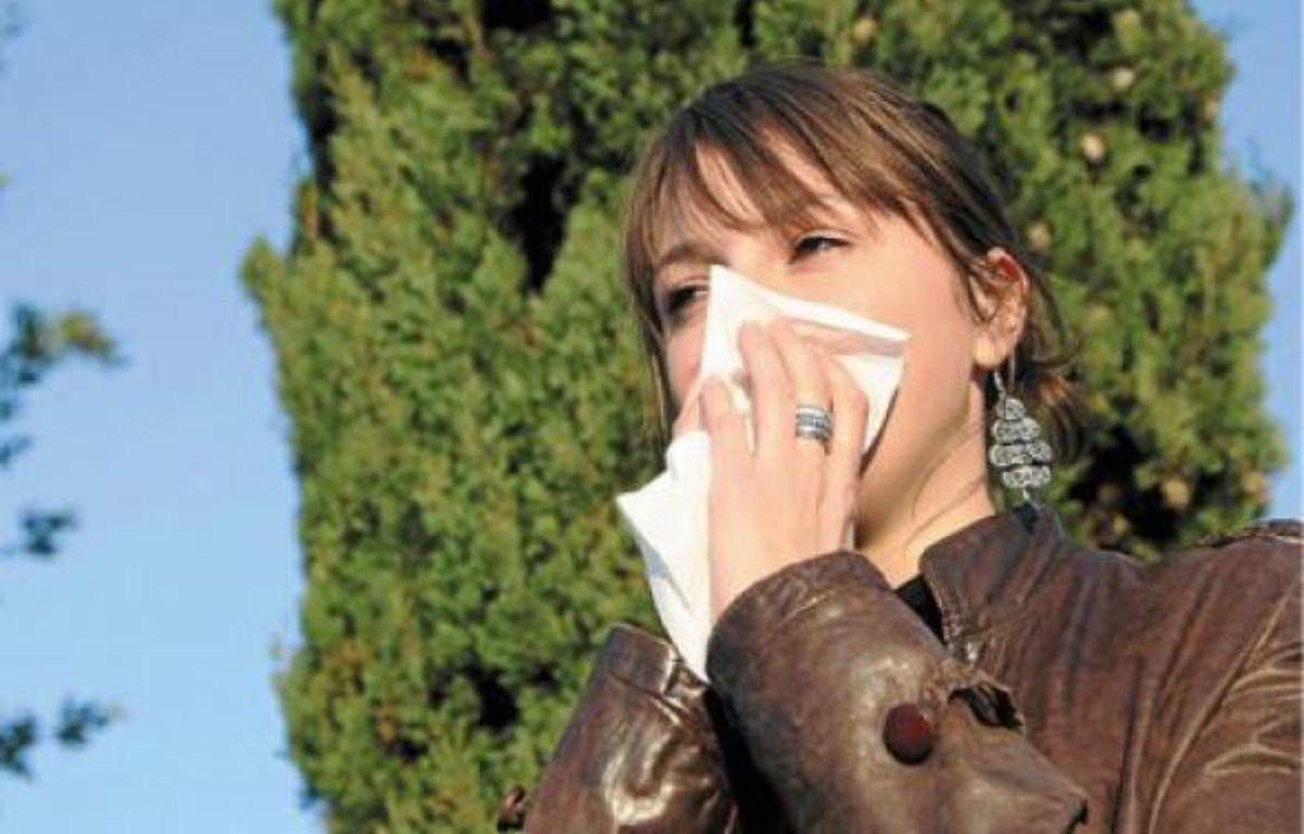 Conjonctivite, asthme et rhinite sont les principaux symptômes des allergies aux pollens d'ambroisie. –  N.GUYONNET  / MDS / 20MINUTES