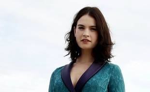 L'actrice Lily James (