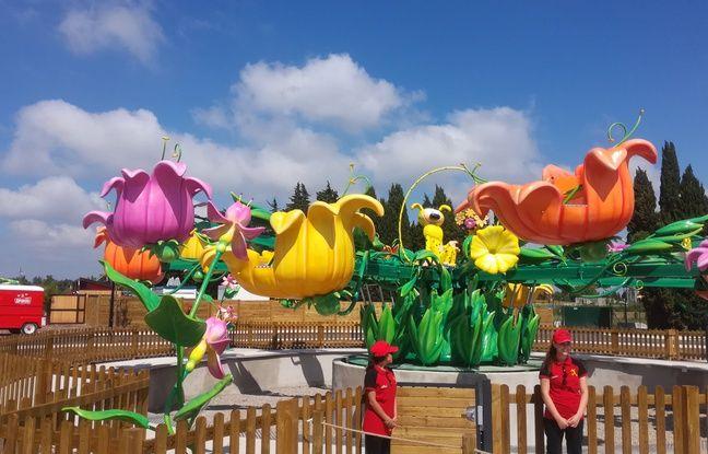 Les attractions du parc Spirou rappellent de célèbres personnages de BD