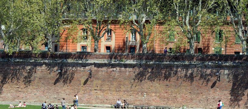 Flaner sur les quais de Garonne à Toulouse, c'est terminé au moins jusqu'au 8 mars.
