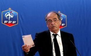 Noël Le Graët, le patron de la Fédération française de football.