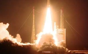 Lancement réussi pour Ariane 5 en Guyane le 14 février 2017.