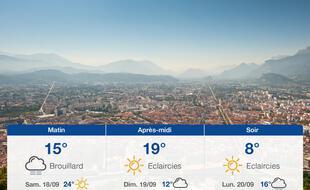 Météo Grenoble: Prévisions du vendredi 17 septembre 2021