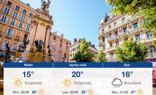 Météo Grenoble: Prévisions du samedi 28 août 2021