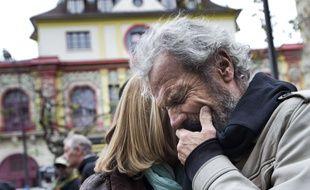 Jean-Marie de Peretti, père d'Aurélie, 33 ans, tuée lors de l'attaque terroriste au Bataclan le 13 novembre 2015, à Paris.