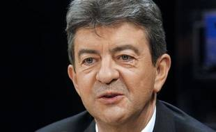 Le président du Front de Gauche, Jean-Luc Mélenchon, le 6 novembre 2011 à Paris.