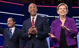 Julian Castro, Cory Booker et Elizabeth Warren ont dominé le premier débat de la primaire démocrate, le 26 juin 2019.