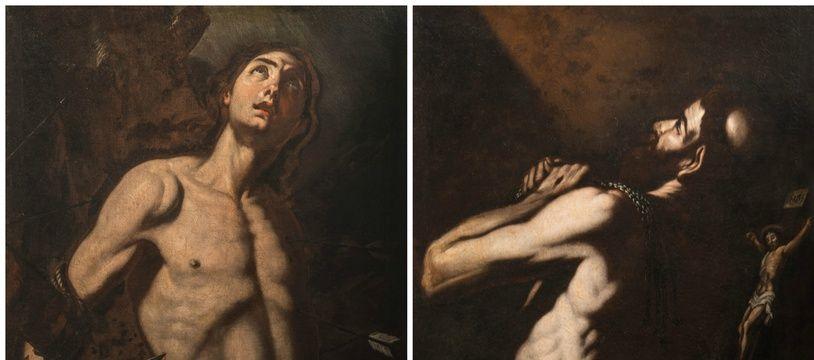 «Le martyre de Saint Sébastien» et «La Peinture du Pardon» ont été découverts à Cavaillon.