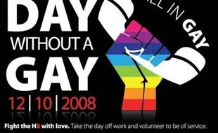 Le 10 décembre 2008, jour sans gays aux Etats-Unis
