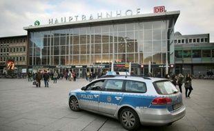 Une véhicule de police à Cologne le 5 janvier 2015