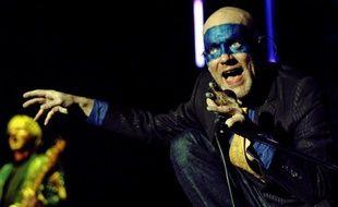 Le chanteur du groupe R.E.M., Michael Stipe, en 2005.