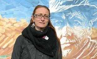 Aline Guitard, admiratrice des résistants, milite au PC depuis vingt-sept ans.