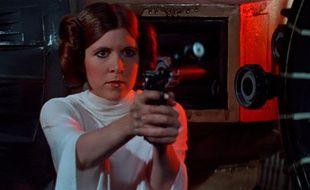 Carrie Fisher dans «La Guerre des étoiles».