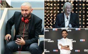 Cyril Hanouna, Patrick Sébastien et Camille Combal se disputent le titre d'Animateur de l'année aux TV Notes 2019