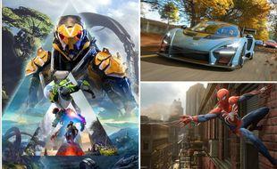 «Anthem», «Spider-Man», «Forza Horizon 4», trois jeux vus et testés à l'E3 2018