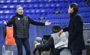 Face à l'OL de Rudi Garcia, Thierry Laurey s'est légitimement plaint de l'arbitrage samedi.