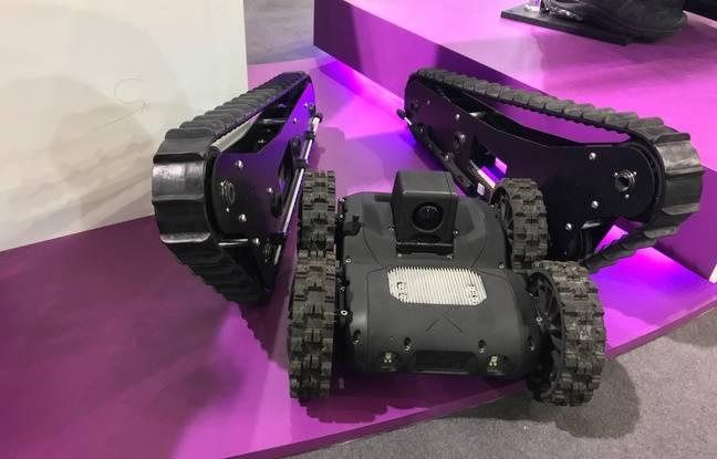 Nerva, le petit robot du Raid
