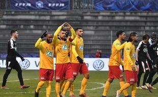 Matthieu Ezikian a définitivement assuré la qualification lyonnaise en inscrivant le troisième but face à Nîmes.