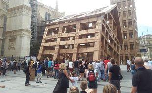 A Bordeaux, le 14 septembre, la biennale d architecture a attiré beaucoup de visiteurs.