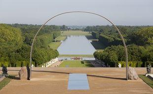 L'arche de Versailles, de Lee Ufan.