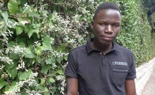 Faguimba, mineur isolé hébergé à Nice, devra quitter le centre à ses 18 ans, qu'il fêtera en octobre 2018.