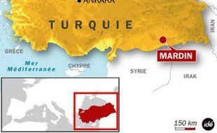 Mardin, dans le sud-est de la Turquie.