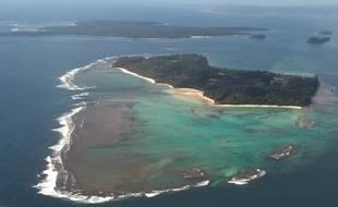 L'île de la mer d'Andaman