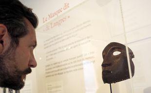 Le Masque de Langres est exposé pour la première fois hors de son musée d'origine