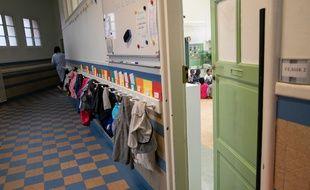 Ecole élémentaire à Paris,04/09/2018. Credit:ROMUALD MEIGNEUX/SIPA