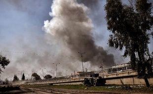 Les forces armées sont en lutte contre Daesh près de Mossoul, en Irak