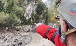 Sept cavités ont été inspectées le long de la rivière Vésubie